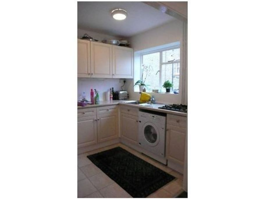Lovely clean kitchen