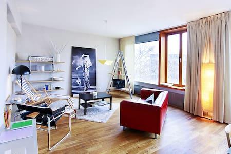 Stylish Loft in Art Nouveau House - Prague - Flat