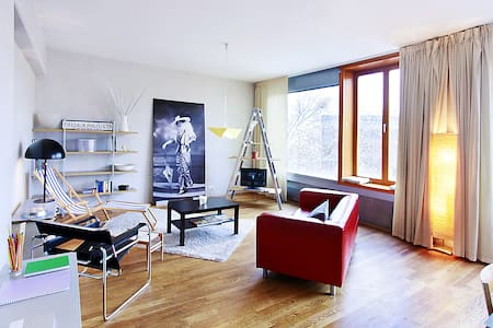 Stylish Loft in Art Nouveau House - Prag