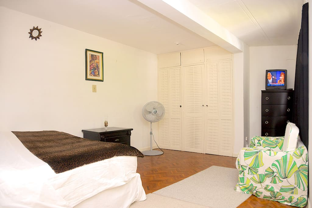 Uncluttered ,yet warm and inviting..