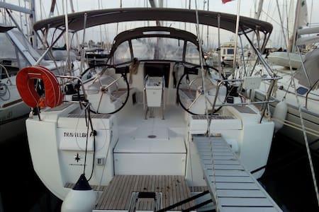 Sailing Yacht in Corfu Greece - Gouvia