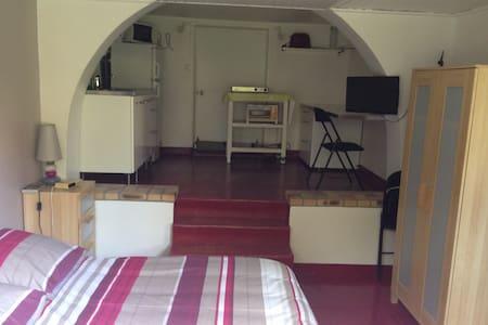 studio rez de jardin dans maison - House