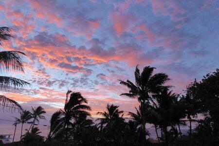 Sunrise House near Kehena Beach, HI - Byt