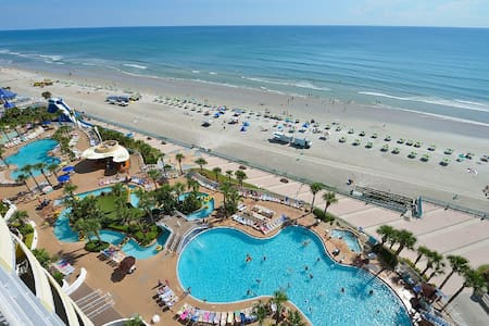 Oceanfront 7th Floor Luxury - 5 Star Resort, WiFi - Daytona Beach - Appartement en résidence