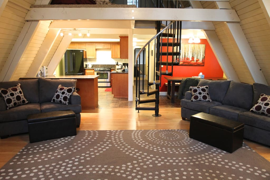 Living Room back - Sofa sleeper