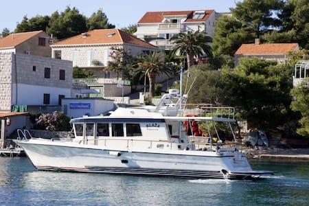 Captain's Villa- Deluxe Suite - Lumbarda - Villa