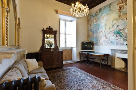 Ancient Trastevere rooms: THE SUITE
