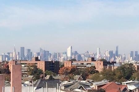 Great Manhattan skyline view