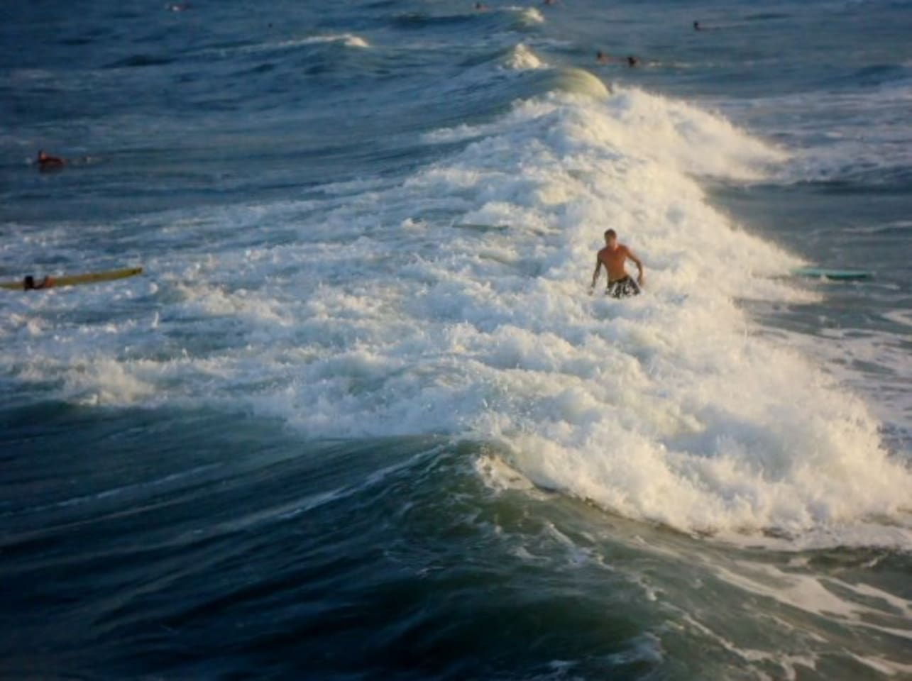 Surfer in Cocoa Beach
