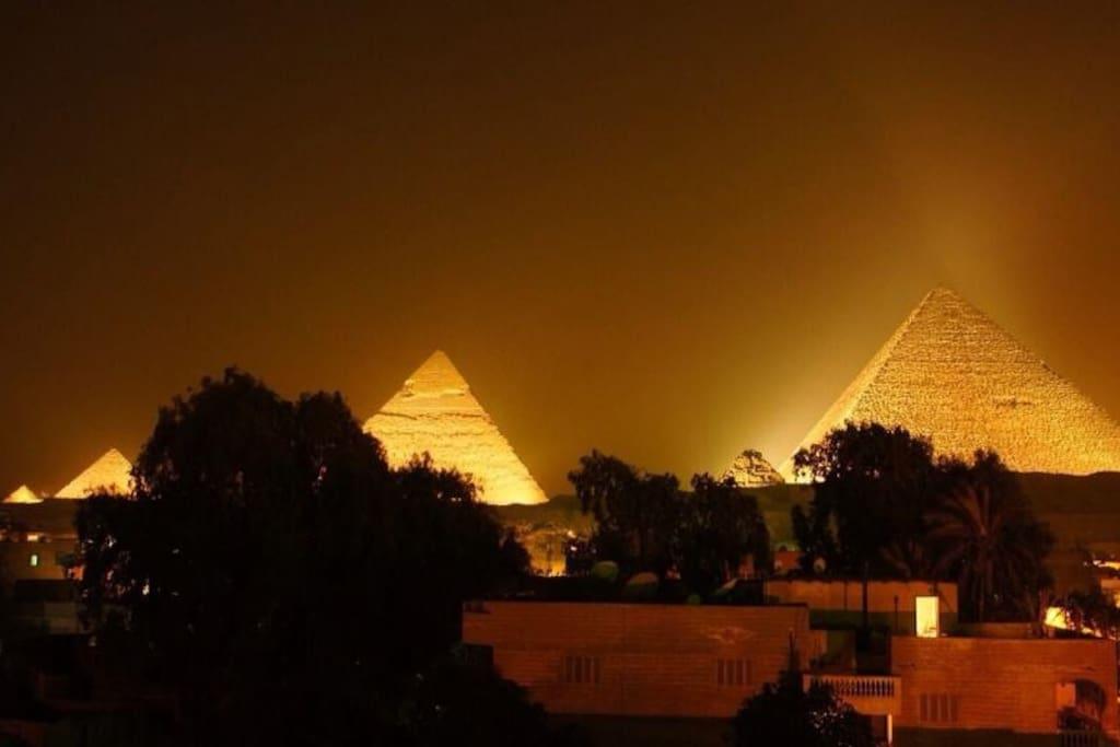 Pyramids View Apartment 40 $/Night