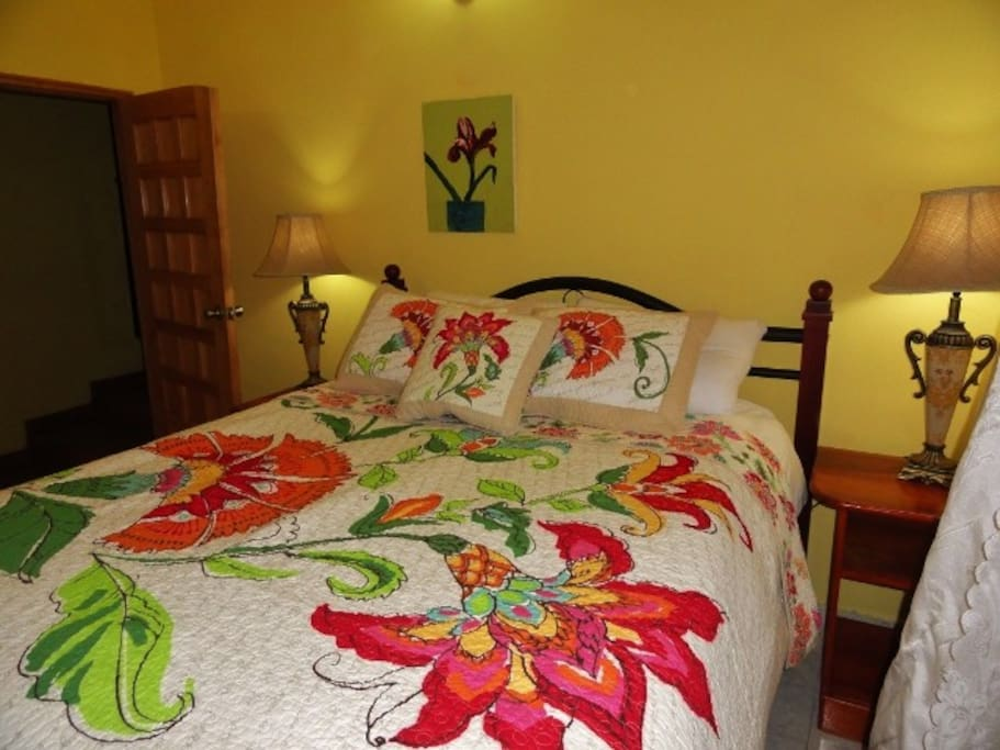 Guest Room - Bedding does change from guest to guest.