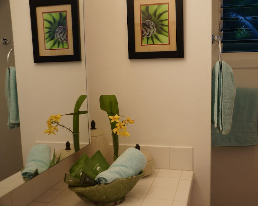 Your Ensuite includes Shower Cubicle, Vanity, Toilet Suite and Hair Dryer