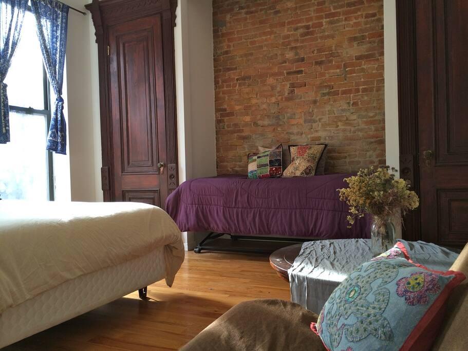 Master Bedroom- Historic Brownstone