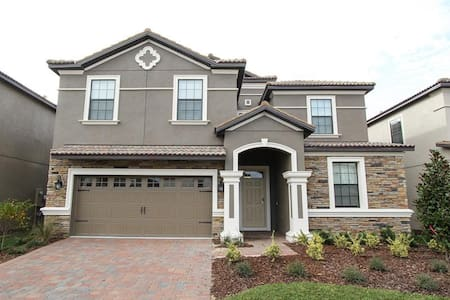 ChampionsGate Resort - Pool Home 9BR/5BA Near Disney - Sleeps 18 - Platinum - RCG932 - Four Corners