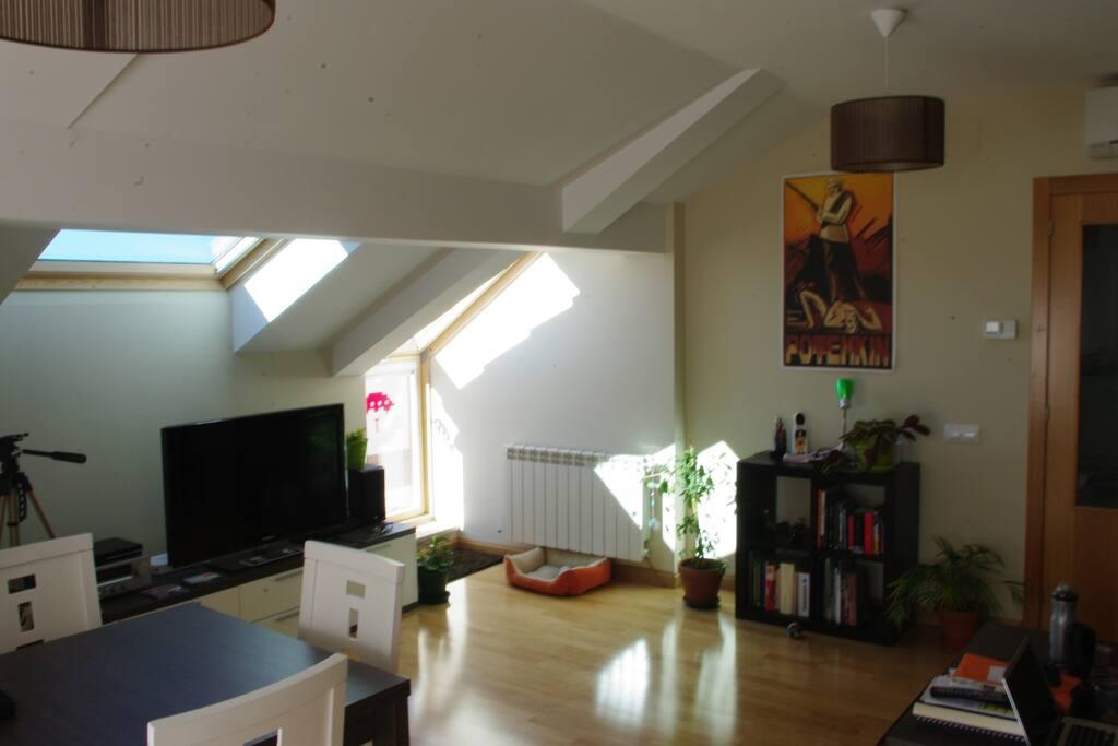 Habitación muy cómoda y céntrica.