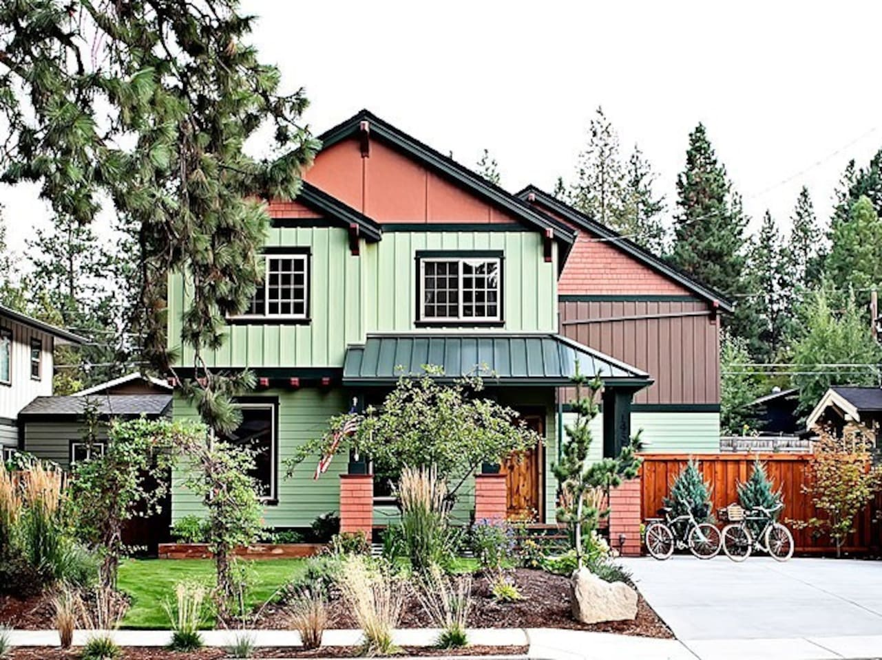 Brand new craftsman home on Newport Avenue