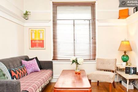 Bohemian Mid Century 1BD Apartment