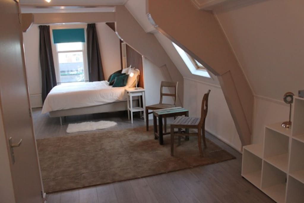 the full lenght of the bedroom