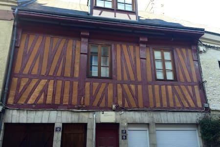 Bel appart type 2 centre historique - Harfleur - Apartment