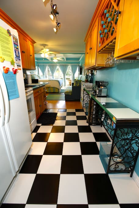Wide Open Floor Plan!  Fun, Playful, Organized, and Upscale!