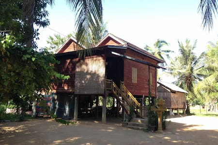 Khmer Traditional Wooden Style - Krong Siem Reap - Hus