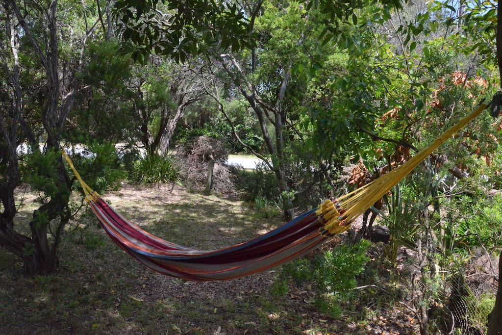 Hammocks supplied!