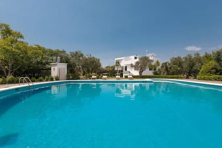 185 Villa with Pool in Casarano - Casarano