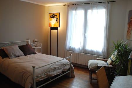 Cozy 2bd (accom 3) in artists' home - Saint-Maur-des-Fossés