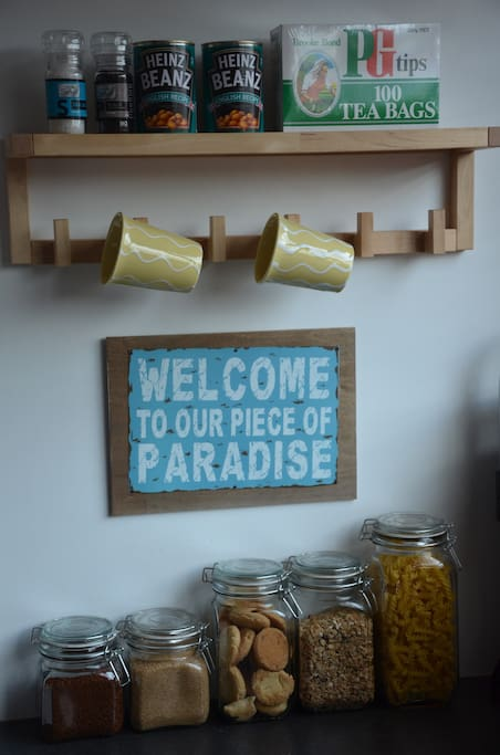 welcome to our piece of paradise