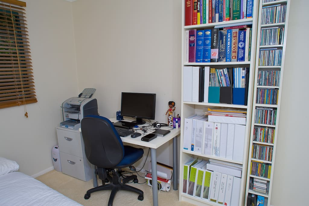 Use of office facilities inc. free wireless internet access, photocopying, printing & local phone calls