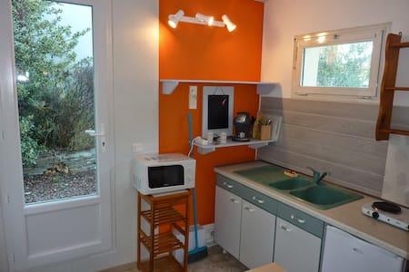 Studio indépendant de 20m² avec jardinet - Teyran - Apartment