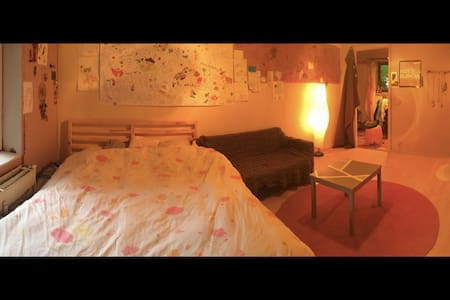 Lovely cozy room close to everything - Lakás