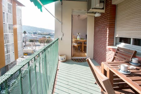 ♬Beach terrace twin apartment