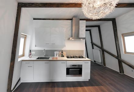 nicely renovated Jordaan appartment