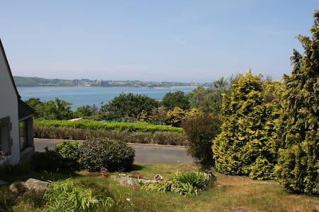 Maison vue panoramique sur mer - Rumah