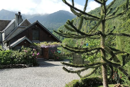 CHARMING MOUNTAIN GITE AT 900 M ALTITUDE - COULEDOUX - Haus