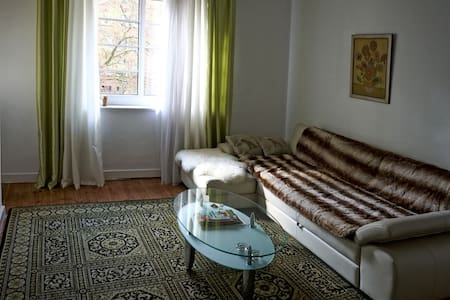 large room with balcony in downtown - Hamburg - Pis