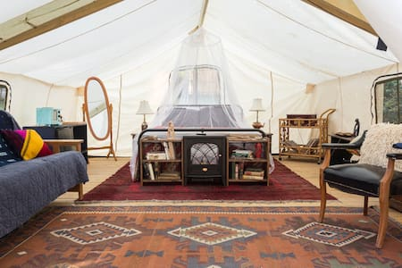 Unique Glamping Experience w/ Heat & AC - Zelt