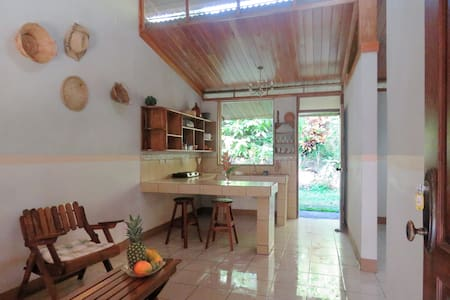 Beautiful Guest House Heliconia at Finca Isla - Aguas Zarcas - House