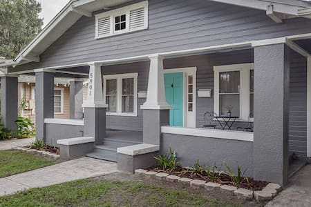 The Old Ola Bungalow! Vintage Eclectic & Fun House - Tampa
