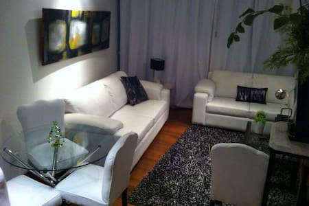 This amazing, comfortable, and well located duplex apartment in Miraflores hosts 2 people and is located in a quiet street on the edge to Barranco, near the beginning of the Costa Verde and  Malecón Armendariz, close to superb San Antonio y Tanta.