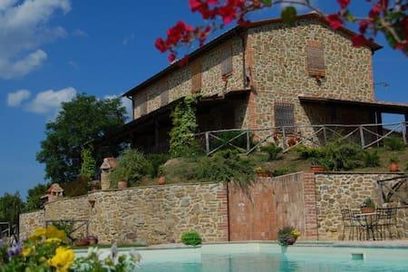 Villa in Paciano 20+ guests - Paciano - Villa