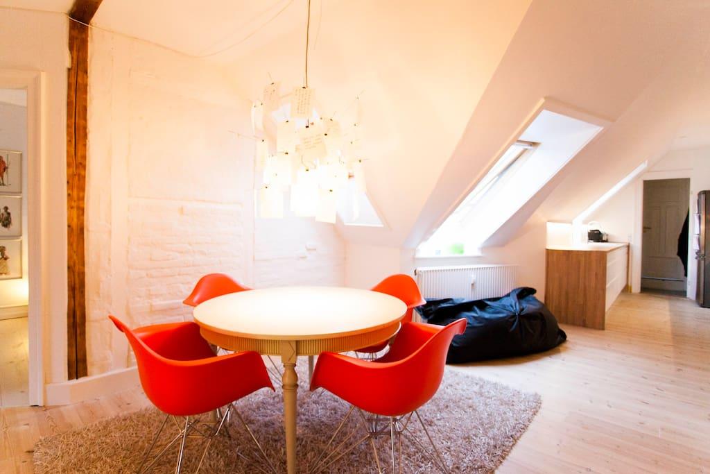 Cozy penthouse apartment!