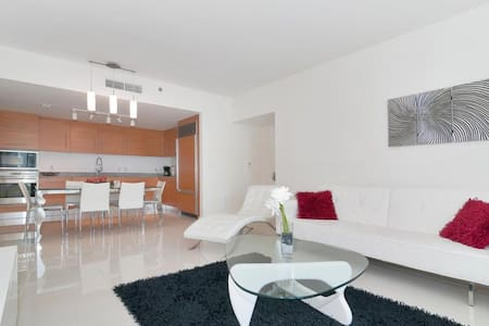 Waterfront Luxury 1 Bedroom W Hotel Brickell - Miami - Wohnung