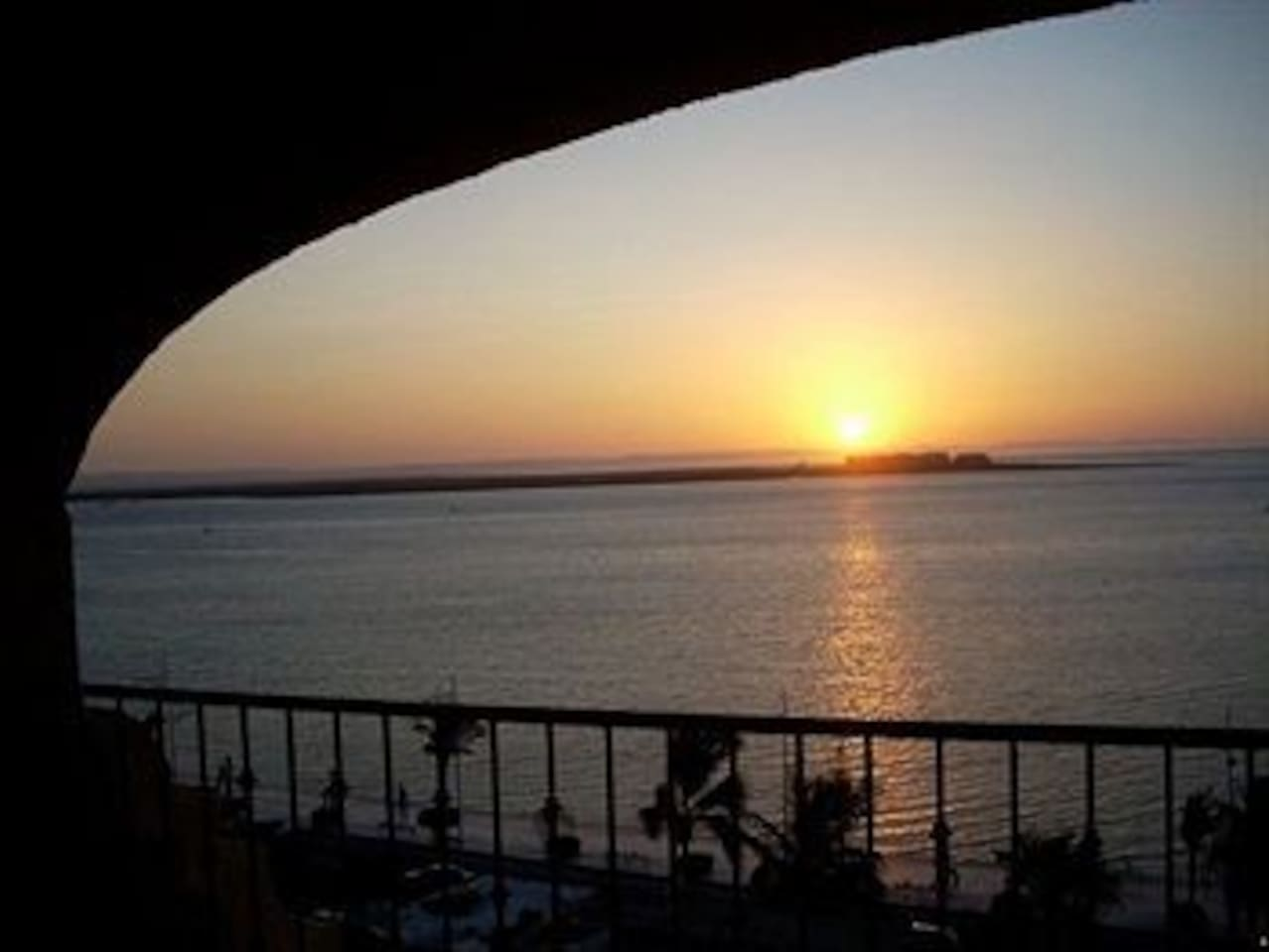 From the terrace of your suite you will enjoy a sunset to remember.