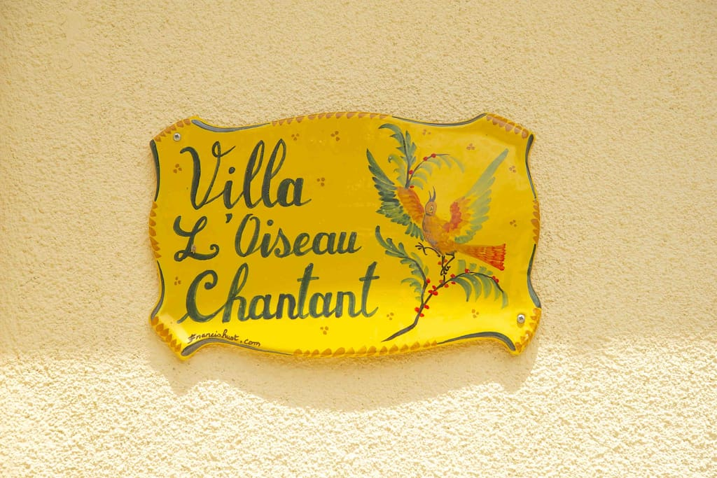 Villa l'oiseau chantant - Relax and enjoy the luxury