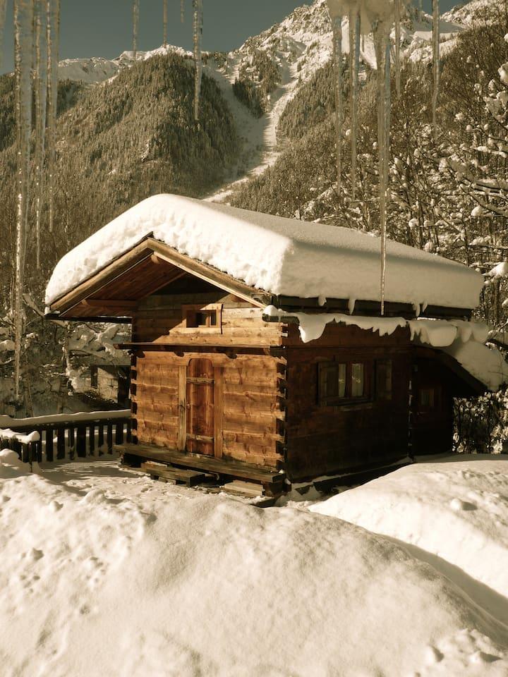 The Mazot-Cabin