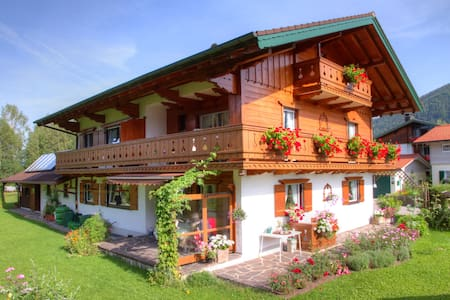 FeWo 4 Pers. Inzell 2 ZKB  Balkon - Inzell - Apartment