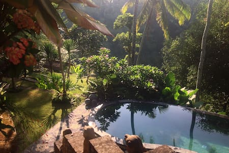 Great decor,magical view villa,Ubud