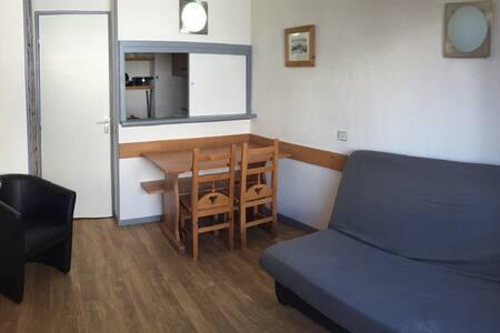 Joli studio cabine tout équipé - Tignes - Lejlighed